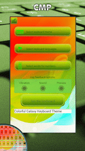 Keyboard Themes Galaxy 2017 screenshot 2