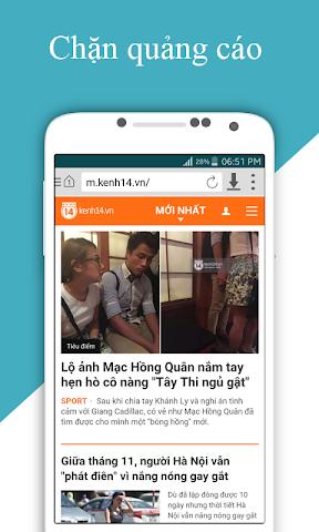 android Cốc Cốc HD Screenshot 3