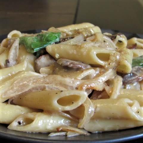 Penne With Walnut Pesto Recipe