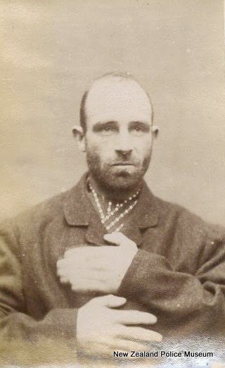 Photo: Frank Masters, alias Charles Smith/Johnston (b. 1862). Charged with the rape of a girl under eight years of age and sentenced to five years in gaol on 2 December 1889. Photograph taken on 6 May 1890.