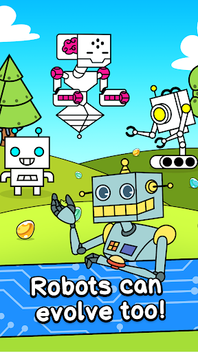 Robot Evolution - Clicker Game 1.0 screenshots 1