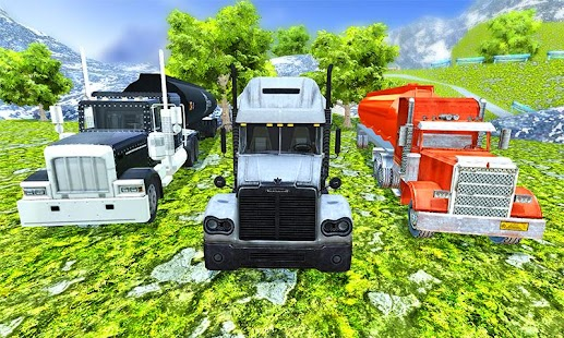 OffRoad Scary Oil chained Truck Driving Game - náhled