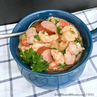 Healthy Crock Pot Jambalaya