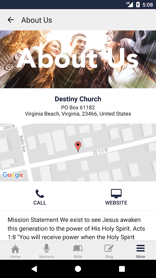 Destiny Church VB- screenshot