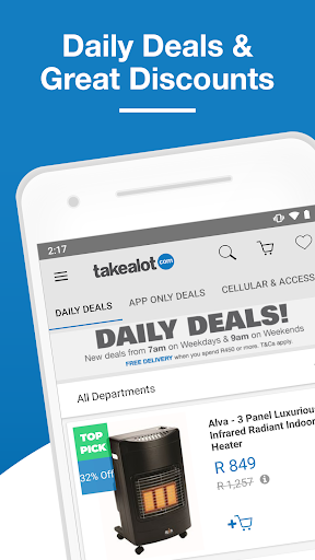 Takealot u2013 SAu2019s #1 Online Mobile Shopping App 1.29.0 screenshots 2