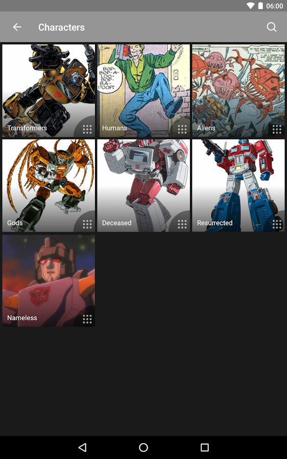 FANDOM für: Transformers – Screenshot
