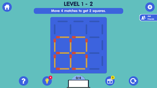 Matchstick Puzzle apkmind screenshots 3