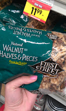 Photo: Hmmm...should we chop up walnuts or another nut for the cookies?