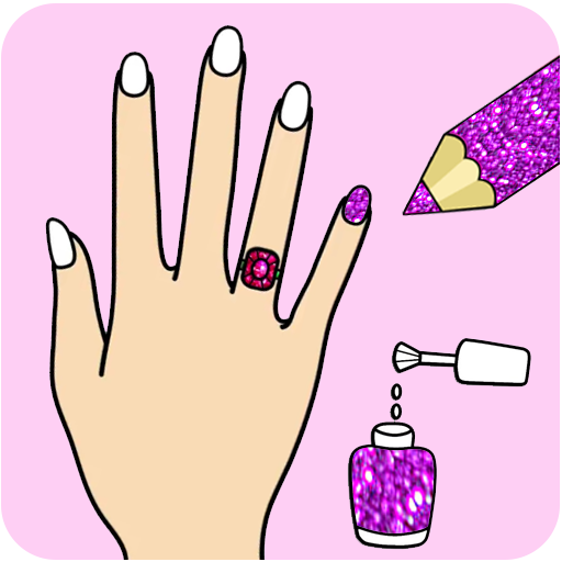Fashion Nail Coloring Pages For Girls Aplicacoes No Google Play