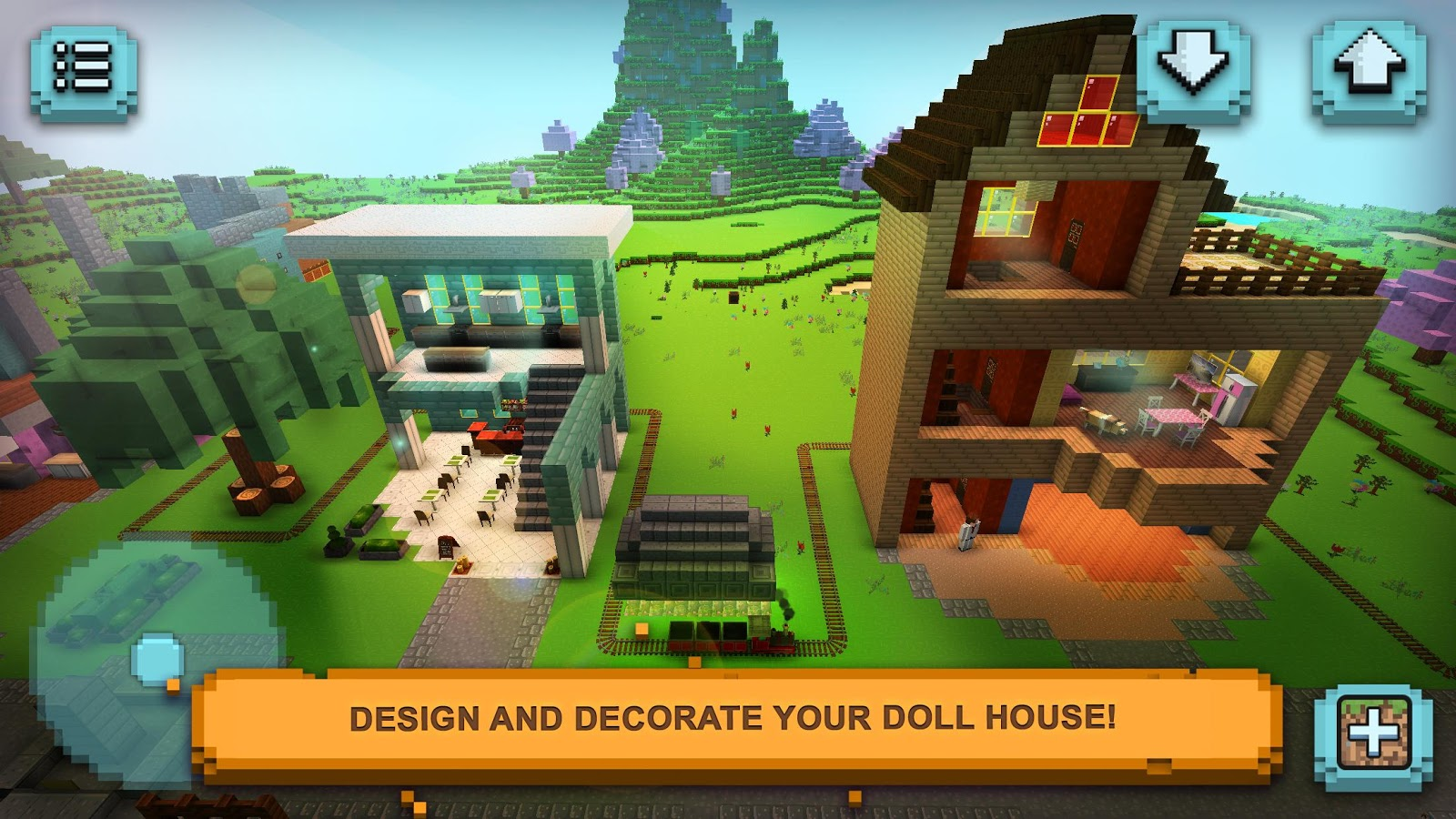Dollhouse Craft 2 Girls Design Decoration Android Apps on