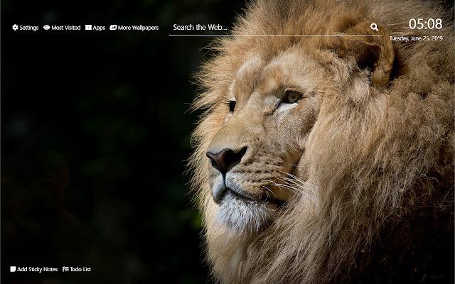 African Wildlife Wallpaper HD New Tab Theme