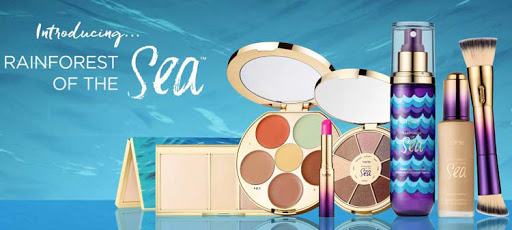 Rainforest of the Sea, a new line of cruise-friendly cosmetics from Tarte.