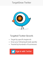 TargetGrow Twitter Followers- screenshot thumbnail