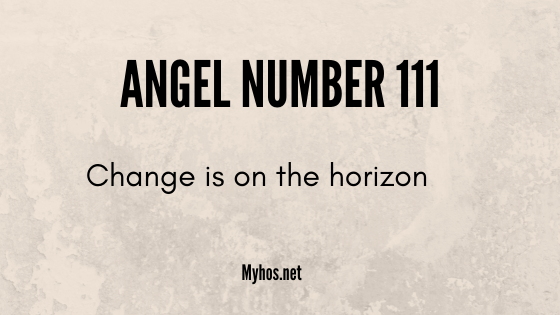 angel number 111: change is on the horizon