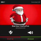 Fake Call From Santa talking