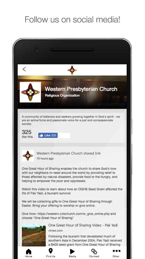 Western Presbyterian Church- screenshot