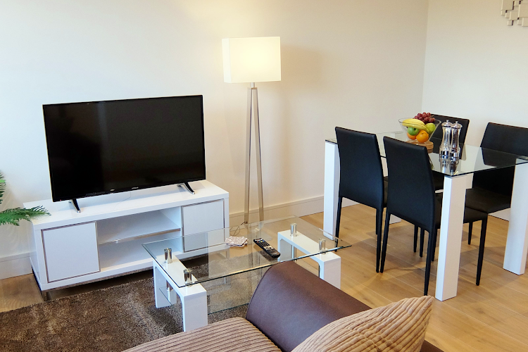 living space at Twickenham apartment