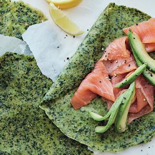 Spelt and Spinach CrêPes with Avocado Recipe