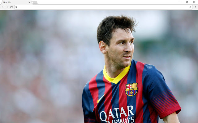 Messi New Tab