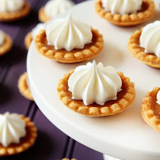 Mini Pumpkin Pies.