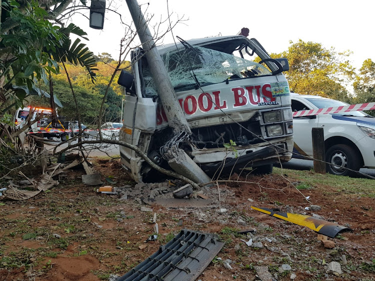 The children were on they way home from school when the taxi lost control in Durban North on July 23, 2018.