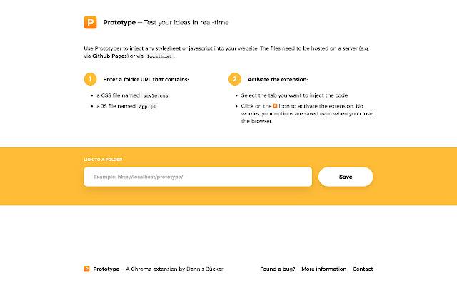 Prototype - Inject new code in your websites