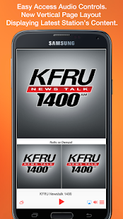 KFRU Newstalk 1400- screenshot thumbnail