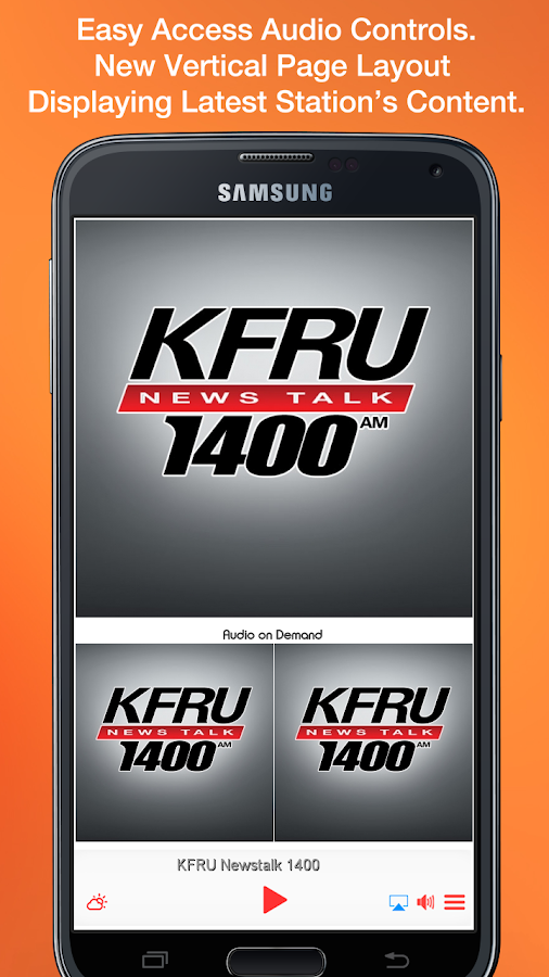 KFRU Newstalk 1400- screenshot