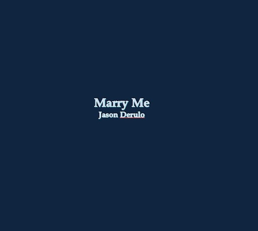 Marry Me Lyrics