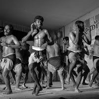 Kerala: Kalaripayattu thekkan di