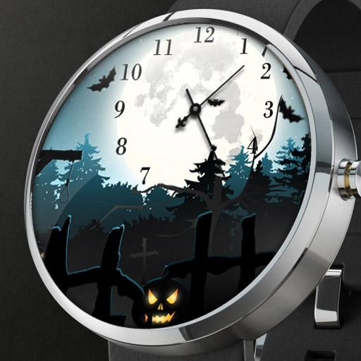 Halloween Night Watch Face