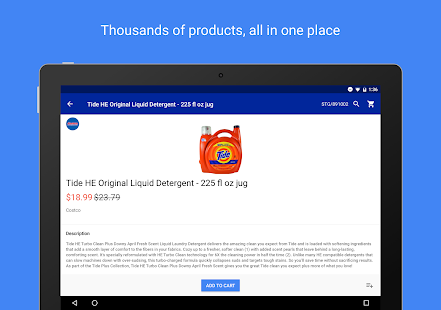 Google Express- screenshot thumbnail