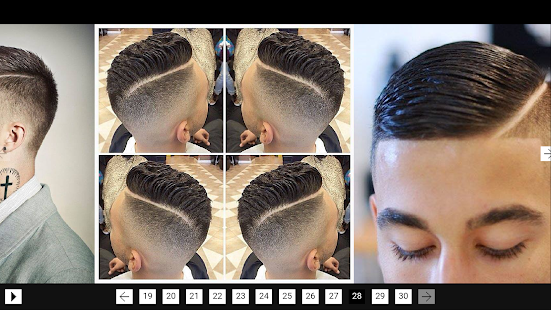 Popular Hairstyles Men screenshot