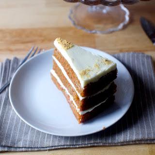 Carrot Graham Layer Cake.