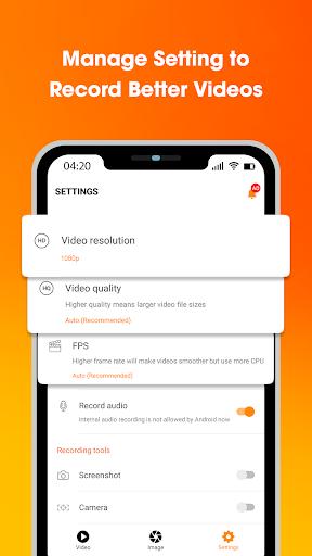 SUPER Recorder - Screen Recorder, Capture, Editor 1.0.9 Screenshots 4