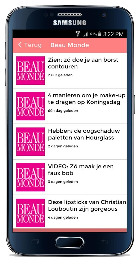 Beauty Nieuws- screenshot