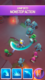 Nonstop Knight 2 MOD APK [Unlimited Mana] 4