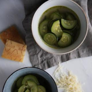 Light Zucchini Soup.