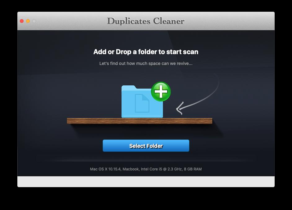 맥에서 중복 파일 찾기, Duplicates Cleaner
