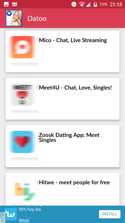 DATOO: Best Free Dating Apps - Meet New People- screenshot