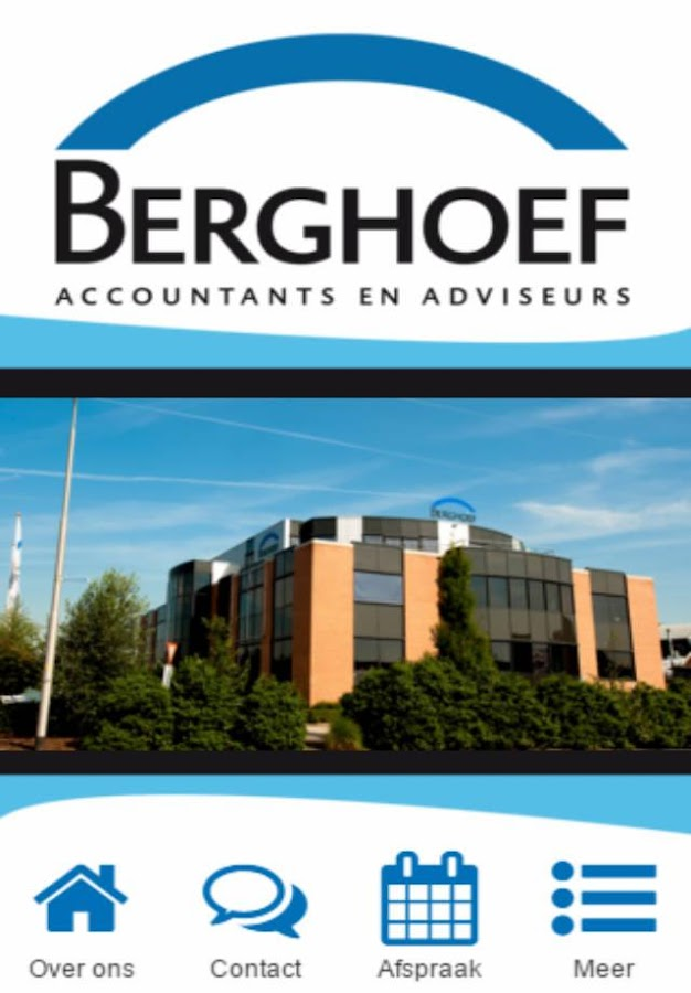 Berghoef Accountants- screenshot