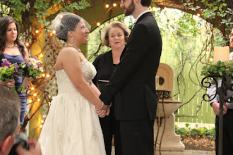 Photo: Wedding Ceremony Twigs Tempietto - Greenville, SC http://WeddingWoman.net