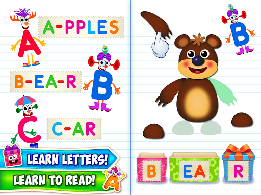Baby ABC in box! Kids alphabet games for toddlers 2.0.3.4 screenshots 8