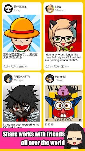 SuperMii- Make Comic Sticker 3.1.0 screenshots 3