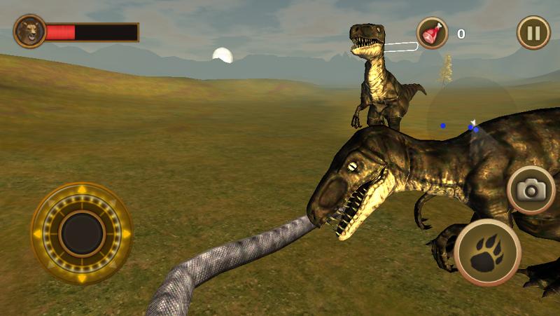 Скриншот Snake Survival Simulator