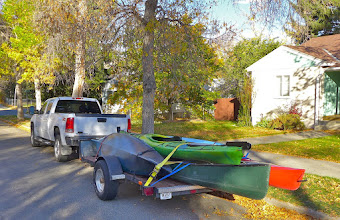Photo: Ready to go have some fun - It's nice to have a generous brother-in-law to borrow from (pick-up and trailer). Thanks Craig!