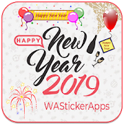 Happy New Year 2019 Sticker Pack - WAStickerApps