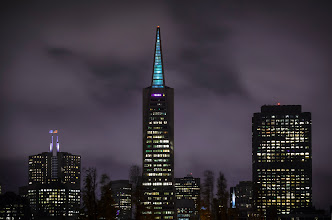 Photo: Tall, Taller, Tallest San Francisco, CA. 2012.  Had a wonderful time walking with friends (old, and new) last night. This is the part when I would thank specific people for making last night memorable, but there was just too many, so rather than leave anyone out, I'll just thank everyone!  Here is one of my favorite images that I got from last night, and there are a few, so stay tuned as I get to post most of them in the next few days. The transamerica building as seen from north beach.  Want to see more photos from this event? check them out athttps://plus.google.com/events/c2jf6psk3r399lb5vi55gdooti4