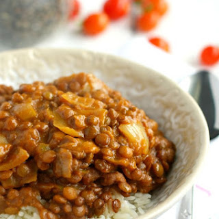 Slow Cooker Lentil Curry.