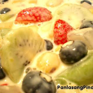 Fruit Salad With Condensed Milk Recipes.